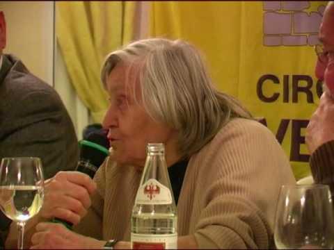 Margherita Hack: conferenza stampa a Verona. (3/4)