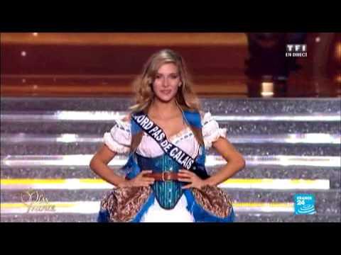 بالفيديو : لحظة تتويج ملكة جمال فرنسا لعام 2015