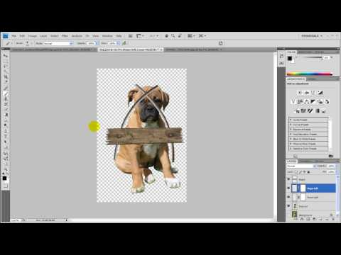 GSG Turorial 2 - How to put together a photo manipulation in Adobe Photoshop CS4 - Part 1
