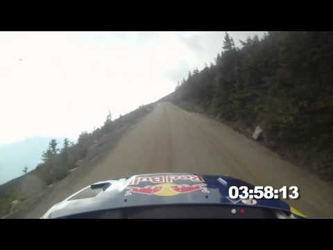 FULL RUN - Travis Pastrana-s rally hillclimb up Mt. Washington