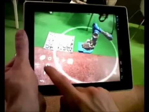 Santa'S AR - Progetto realta' aumentata - presentazione ufficiale SMAU R2B 2012 Bologna