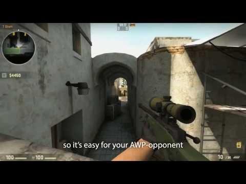 CS:GO Маркелов учит стрелять с авп.