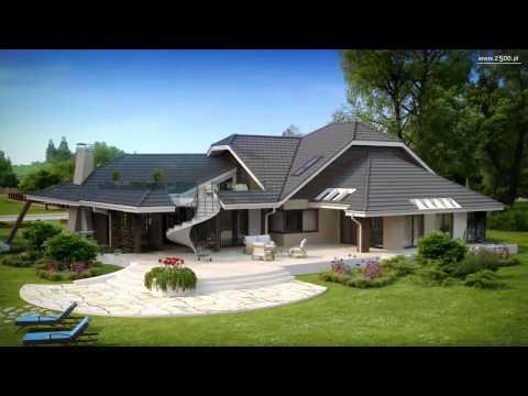 Projekty Z500 - projekt domu ZR5 w HD