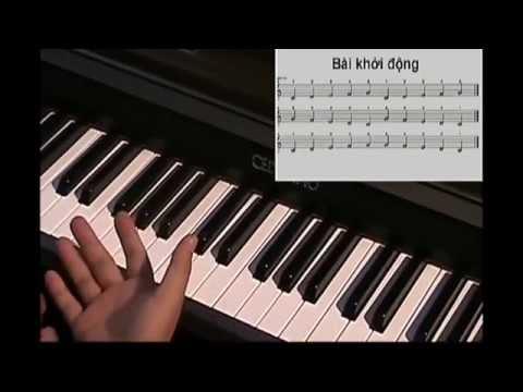 Tự Học Đàn Piano - Bài 1