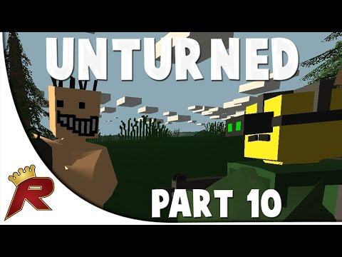 Unturned Survival Gameplay - Part 10: Andrew Joins!