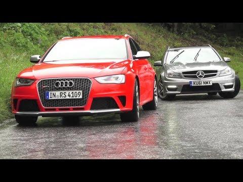 Vergleich vom Audi RS4 B5, B7 zum Audi RS4 B8 vs. C63 AMG