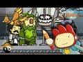 ► Scribblenauts Ilimitado #03 ☯ Tia chata vs Bigodudo