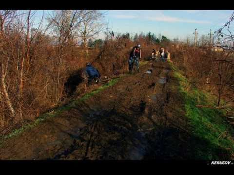 VIDEOCLIP Traseu MTB Clinceni - Zorile - Darvari, 60 km pe biciclete