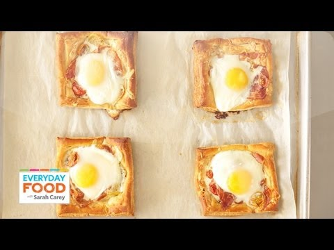 Tomato, Egg, and Prosciutto Tart - Everyday Food with Sarah Carey