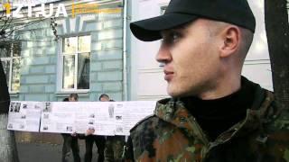 «Патриот Украины» проводит в Житомире антикоммунистическую пропаганду