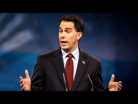 Republican  Scott Walker Butchers Wisconsin Wage Earners