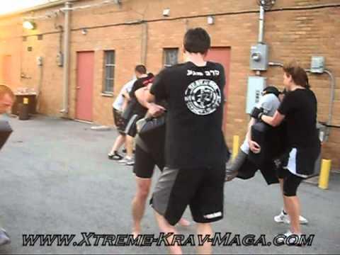 Xtreme Krav Maga & Fitness - Knee Drill