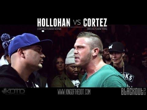 KOTD - Rap Battle - Hollohan vs Cortez (Co-hosted By RAEKWON)