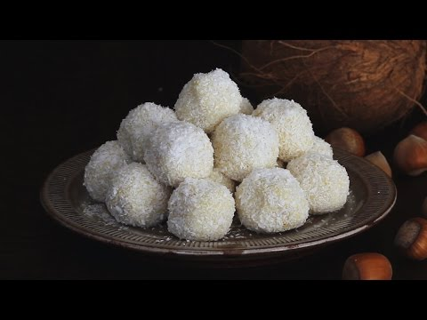 White Chocolate and Coconut Truffles Recipe