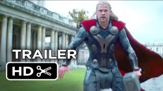 Thor: The Dark World Official Trailer #2 (2013) - Chris Hemsworth Movie HD