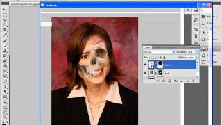 tutorial fotoshop cs5 calaverizar + darck