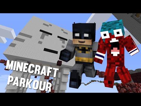 Una buena caída - Minecraft Parkour con Ollie