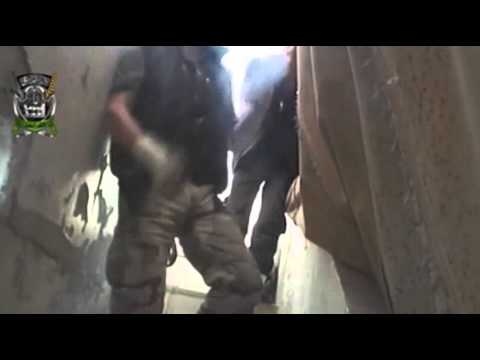 Raw: Fighting Rages Across Syrian Capital  10/4/13