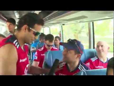 Funny Moment By Irfan Pathan Learning Hindi to other DD Player IPL 2013