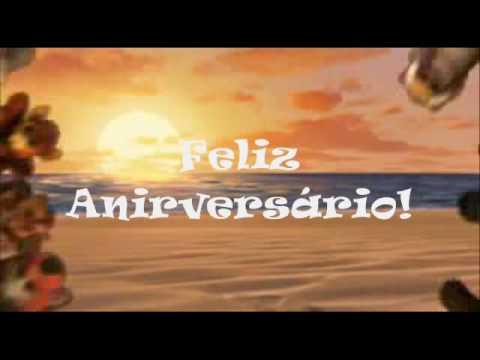 Feliz Aniversário - Happy Birthday V3