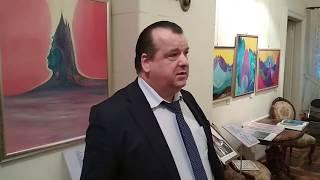 Андрей Александрович Тюняев о Творчестве Виктории ПреобРАженской на выставке в Москве