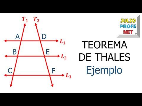 Teorema de Thales (Parte 2 de 2)