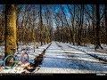 VIDEOCLIP Plimbare de ianuarie cu bicicleta la Padurea Baneasa [VIDEO]