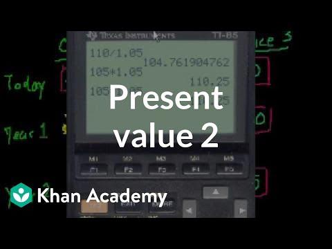 Present Value 2