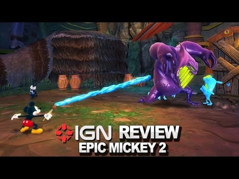 Epic Mickey 2: The Power of Two Video Review - IGN Reviews - UCKy1dAqELo0zrOtPkf0eTMw