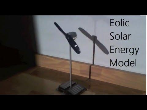 Costruire un Modellino__Centrale Eolica a energia solare