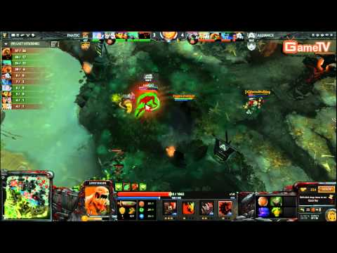 Dota2 | Alliance vs Fnatic D2L 8 1 2014
