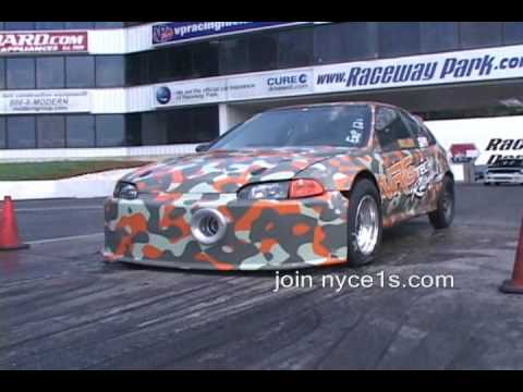 Nyce1s.com - World-s Fastest Outlaw FWD Street Car - NRGTech Racing 8 Sec Civic!!!