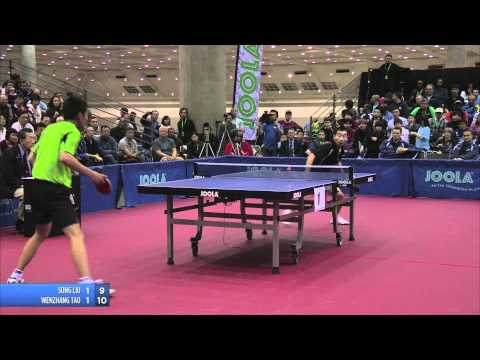 2011 JOOLA NA Teams Table Tennis Championships - Song Liu vs Wenzhang Tao