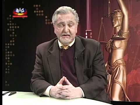 Programa Voce ea Lei com Dr. Moisés Apsan 4 Janeiro (2 Parte)