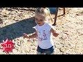ДЕТИ ПУГАЧЕВОЙ И ГАЛКИНА: Лиза танцует на пляже! Свежее видео, Юрмала!