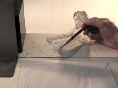 How to Draw a Pencil 3D Illusion - Figure Drawing