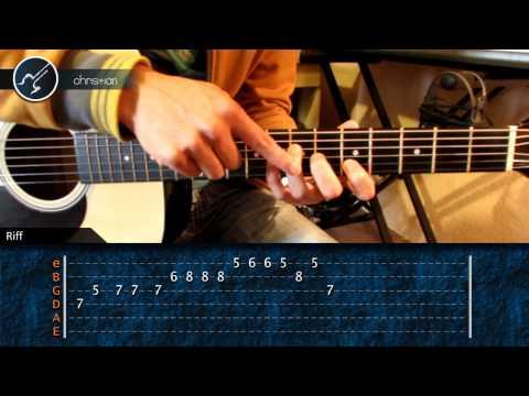 Como tocar Piratas del Caribe en Guitarra (HD) Tutorial Parte 1