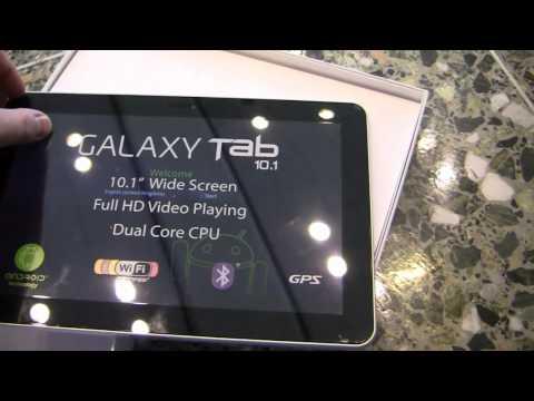 Samsung Galaxy Tab 10.1 Unboxing (Google I/O Limited Edition)