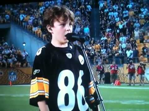 The Dark Knight Rises Exclusive National Anthem At Heinz Field Stadium