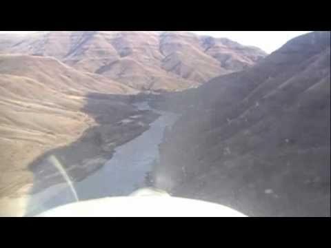 Maule M4 landing at Eagle Creek ID