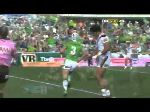 NRL 2012 Round 6 Highlights: Raiders V Warriors