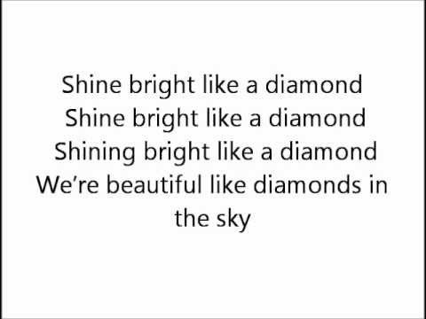 Rihanna - Diamonds ( Lyrics )
