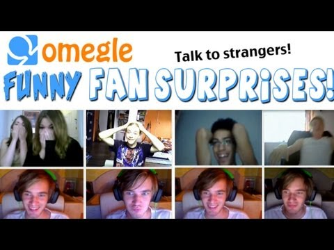 Funny Omegle Fan Surprises! :D - Omegle - Part 2