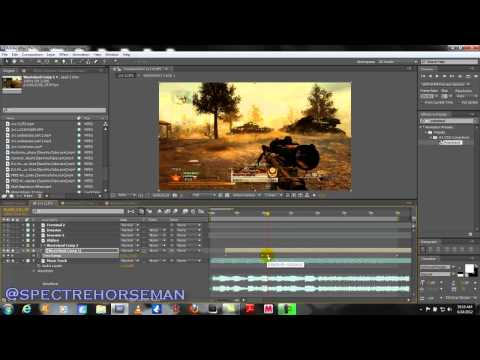 AE Tutorial - How to Sync Sniper Shots and Music Tracks - Call of Duty Montage After Effects