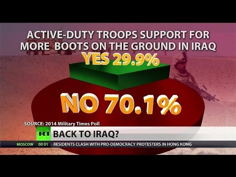 Majority of US soldiers oppose (Iraq) deployment, Because Benefits suck  10/3/14