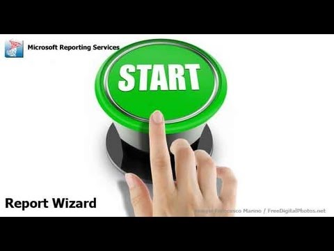 Reporting Services - Report Wizard