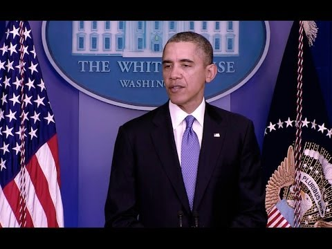 President Obama Speaks on (Ukraine)  3/17/14