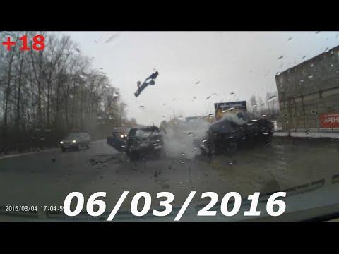Подборка Аварий и Дтп Март 2016 Car Crash Compilation #5