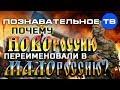 Почему НОВОроссию переименовали в МАЛОроссию? (Познавательное ТВ, Артём Войтенков)