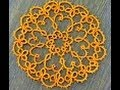 Needle Tatting Doily Part 3